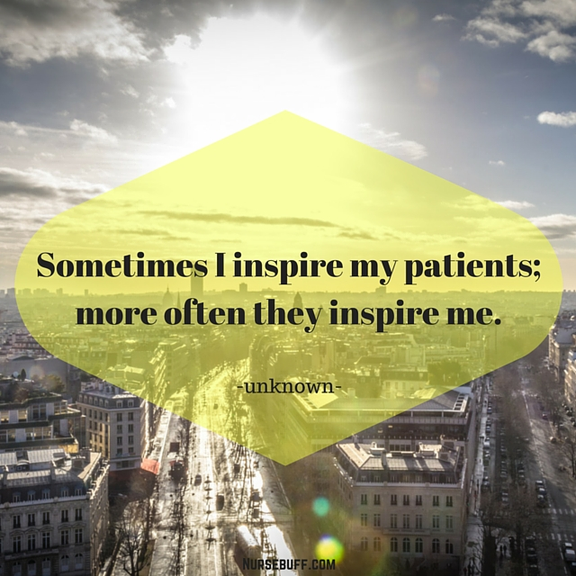 inspirational nurses quote