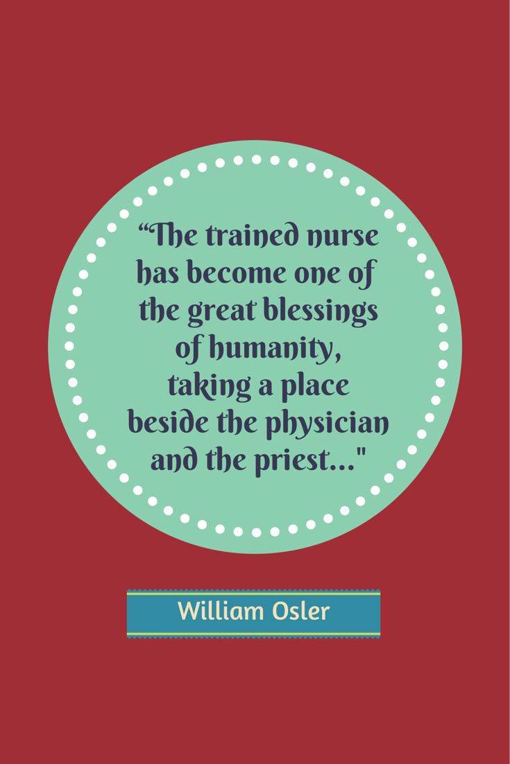 Greatest Nursing Quotes Of All Time William Osler Quote