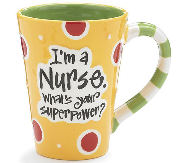 nurse coffee mug graduation gift
