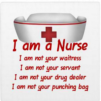 I Am A Nurse Plaque