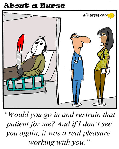 best funny nurse cartoons