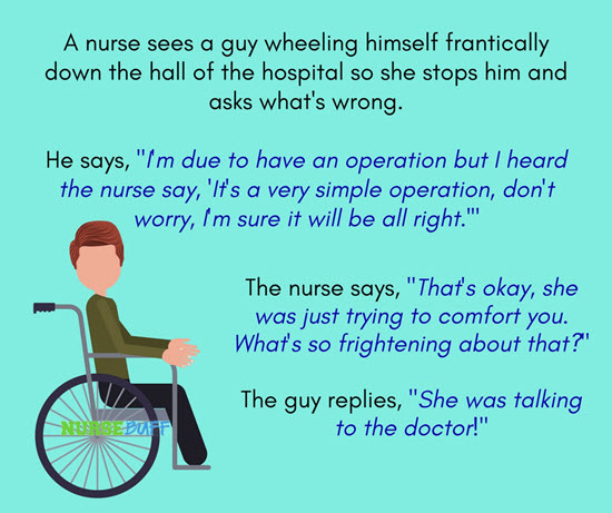 20 Funniest Jokes For Nurses - NurseBuff