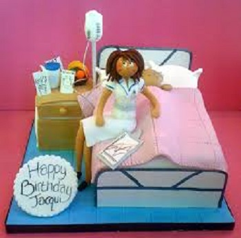Nurse And Patient Cake