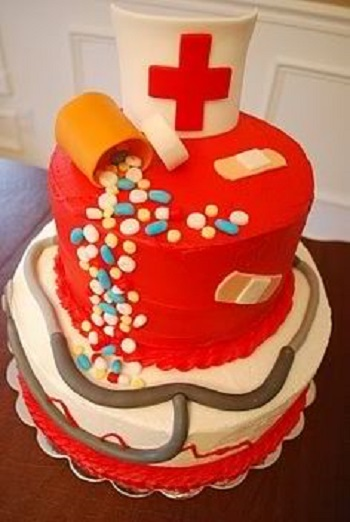 nursing cake ideas