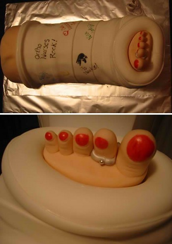nursing cake orthopedic department