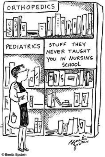 nursing cartoon about nursing school