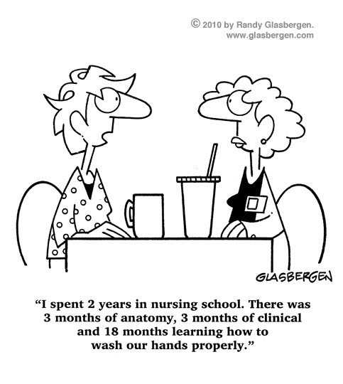 nursing school funny cartoons
