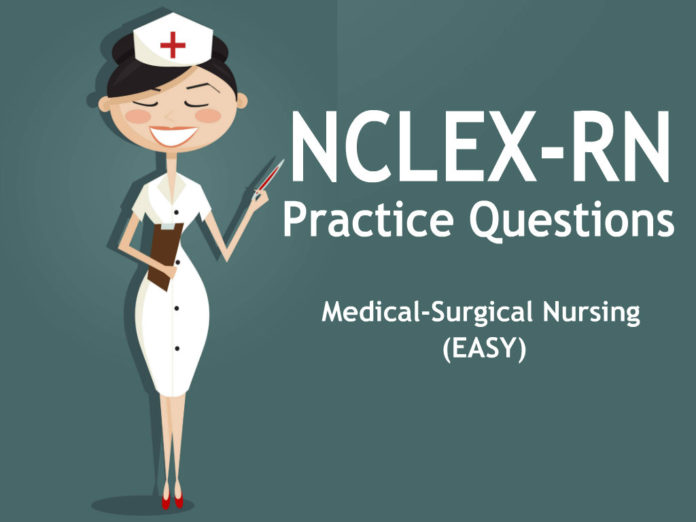 NCLEX RN practice questions medical surgical