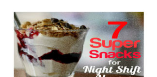 healthy snack ideas for night shift nurses