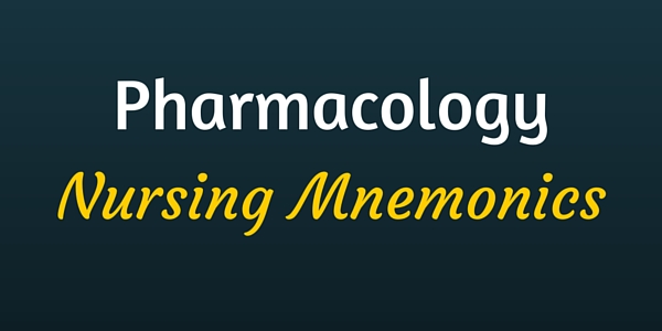 how to study for pharmacology nursing