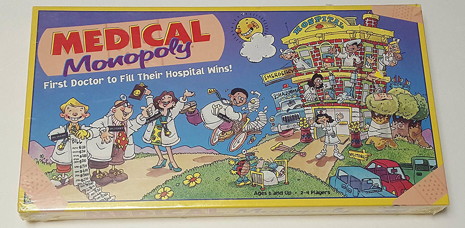 medical monopoly nurse educational board game