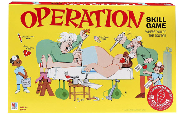 operation nurse educational board game