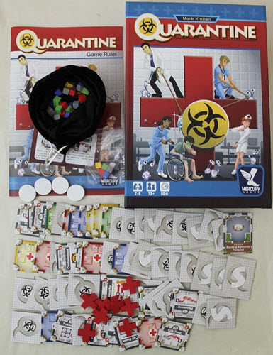 quarantine educational board game