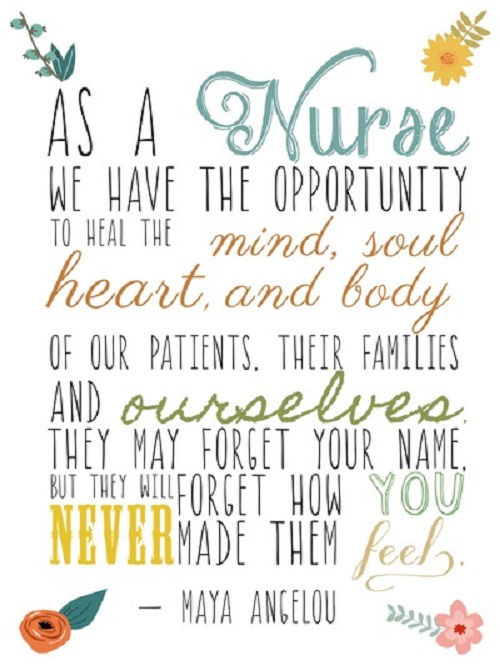 inspiring nurse quotes on pinterest
