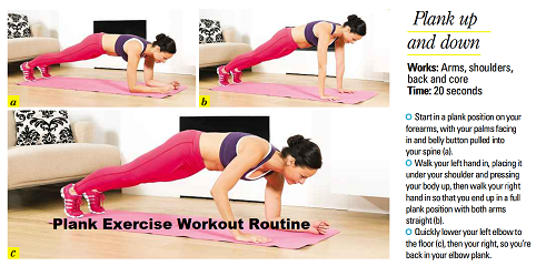 plank exercise for nurses