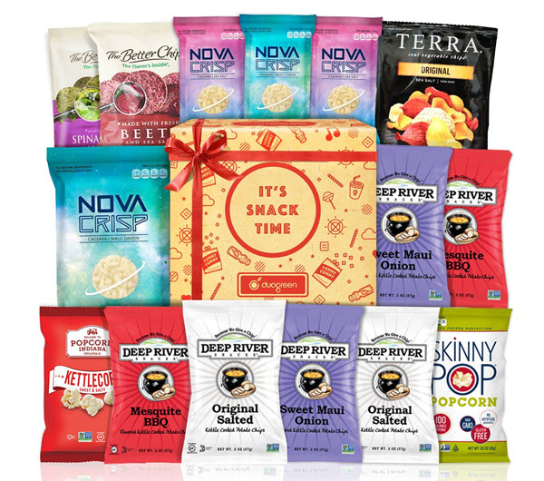 vegan snack healthy premium package box