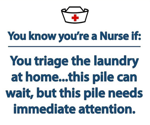 you know you are a nurse if