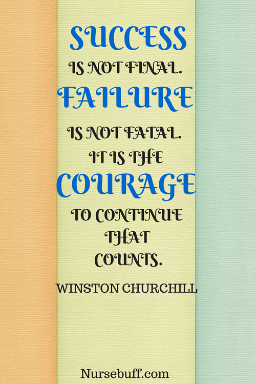 churchill inspirational nursing quotes