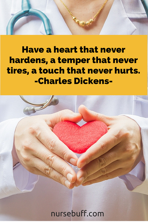 dickens nurse quote