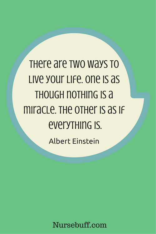einstein inspirational nursing quotes