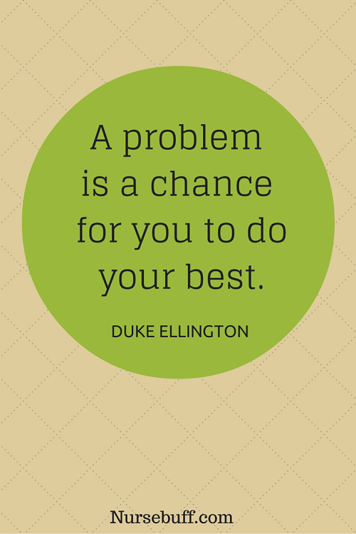 ellington inspirational nursing quotes
