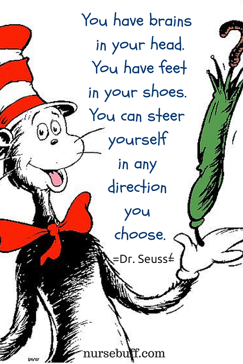 seuss inspirational nursing quotes