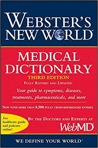 websters new world medical dictionary