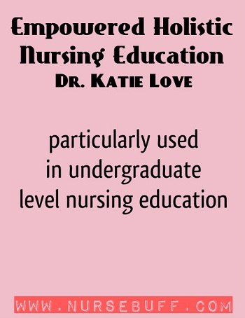 Empowered Holistic Nursing Education by Dr. Katie Love