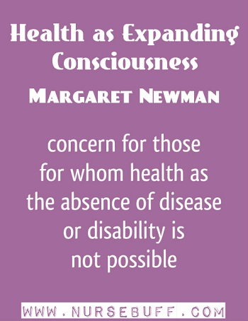 Health as Expanding Consciousness by Margaret Newman