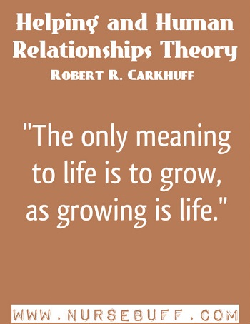 Helping and Human Relationships Theory by Robert R. Carkhuff