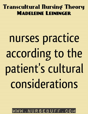 Transcultural Nursing Theory by Madeleine Leininger