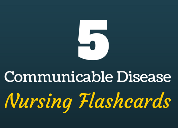 communicable disease nursing flashcards