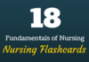 fundamentals of nursing flashcards