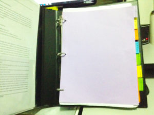 nursing binder