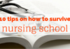 how to survive nursing school