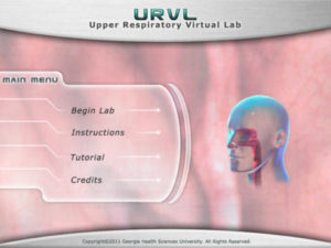upper respiratory virtual lab