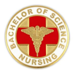 Bachelor of Science Nursing Pin