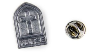 Nurse and Cross Pin