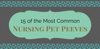 nursing pet peeves