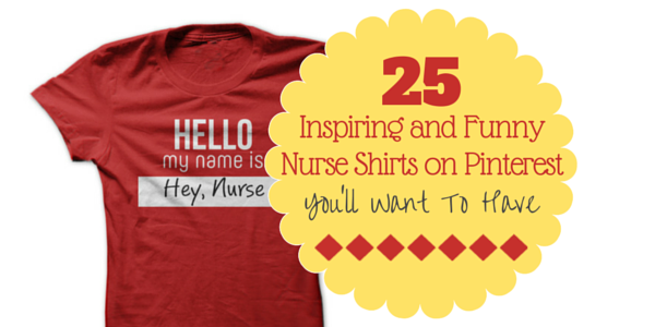 85a38512ed 25 Inspiring and Funny Nurse Shirts on Pinterest You'll Want To Have ...