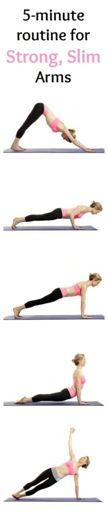 strong slim arms yoga
