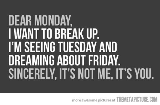 quotes about monday mornings