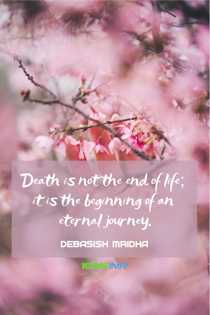 inspirational death quote journey