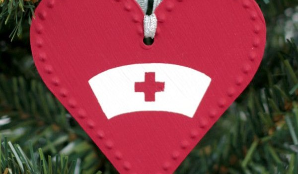 diy nurse ornaments