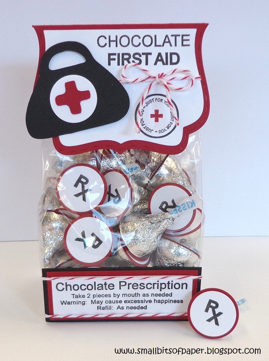 Chocolate First Aid package