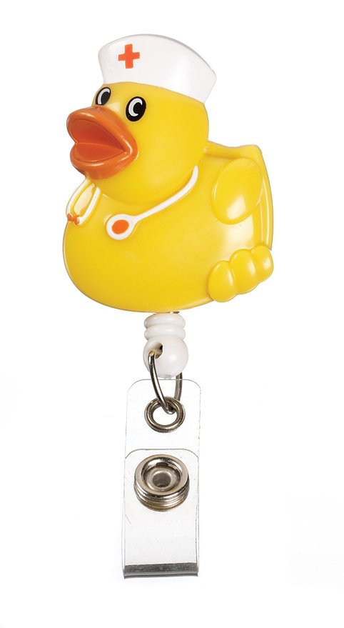 Duck Badge Holder