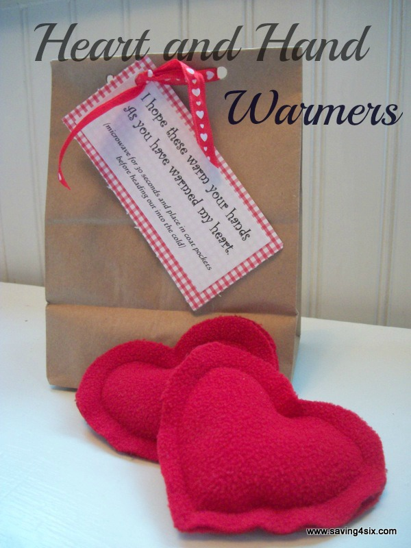 Heart and Hand Warmers