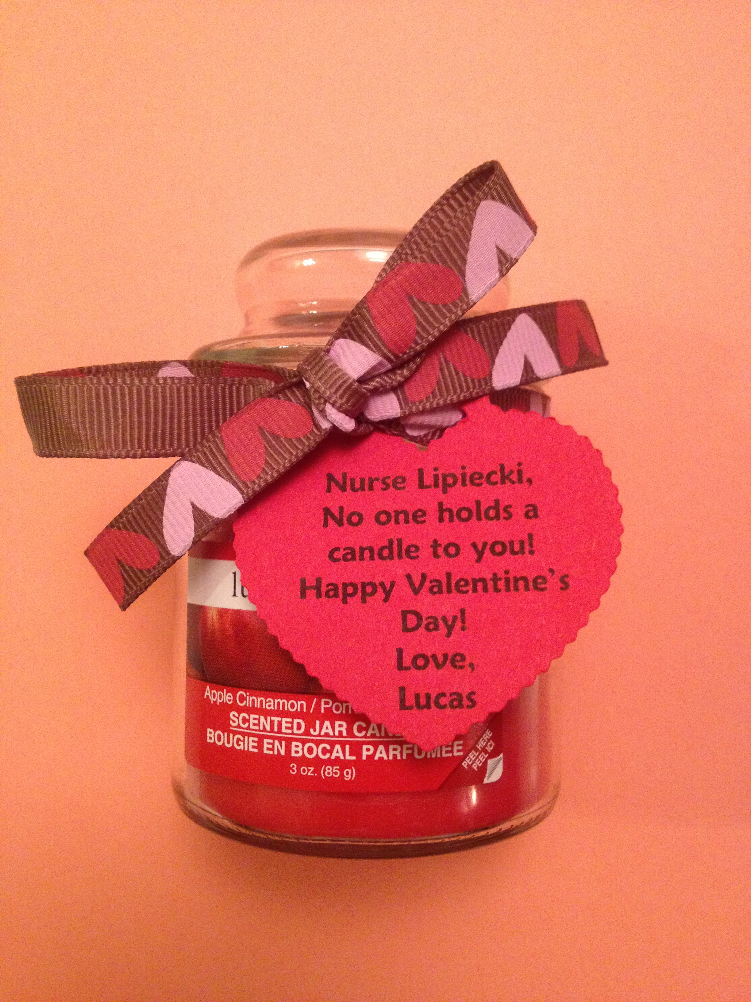 12 easy diy valentines gifts for nurses nursebuff this nurse candle looks especially delicious smelling gift some yummy candles to your fellow nurses and print out heart warming personalized messages to go solutioingenieria Gallery