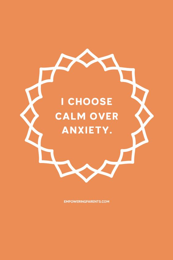 mantras for nurses calm over anxiety