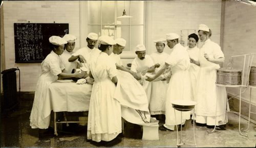 old nurses photo